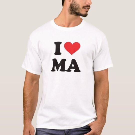I Heart MA - Massachusetts T-Shirt