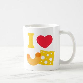 I Heart Mac and Cheese Coffee Mug