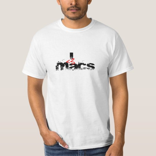 I Heart MAcs (red) T-Shirt
