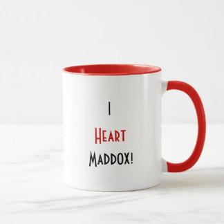 I Heart Maddox mug. Mug