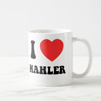 I Heart Mahler Coffee Mug