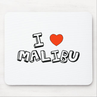 I Heart Malibu Mouse Mat