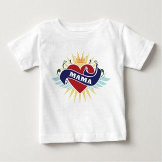 I Heart Mama Tattoo Baby T-Shirt