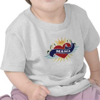 I Heart Mama Tattoo Tshirts