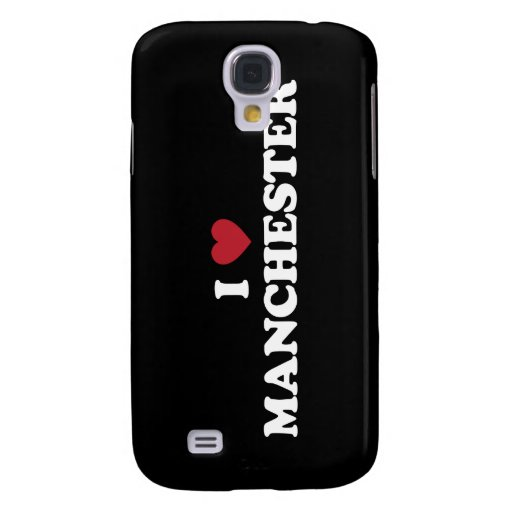 I Heart Manchester England Galaxy S4 Covers
