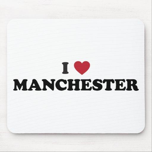 I Heart Manchester England Mousepad