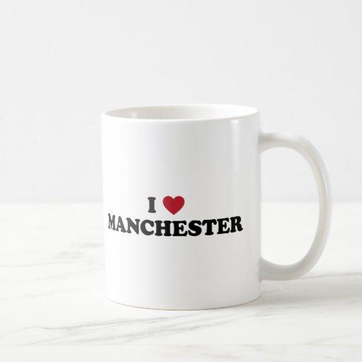 I Heart Manchester England Coffee Mug