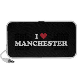 I Heart Manchester England Notebook Speakers