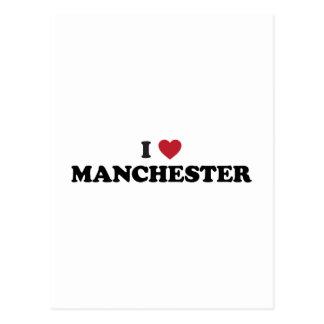 I Heart Manchester England Postcard