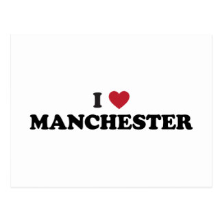 I Heart Manchester England Postcards