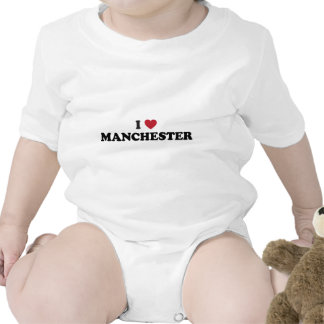 I Heart Manchester England T-shirts