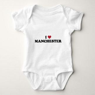 I Heart Manchester England Tshirt
