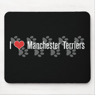 I heart Manchester Terriers Mouse Pad