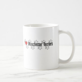 I (heart) Manchester Terriers Coffee Mugs