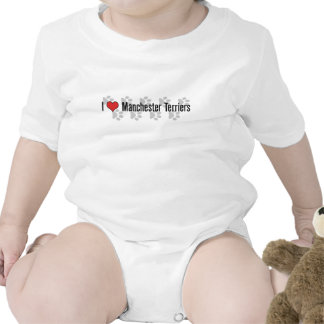 I (heart) Manchester Terriers Romper