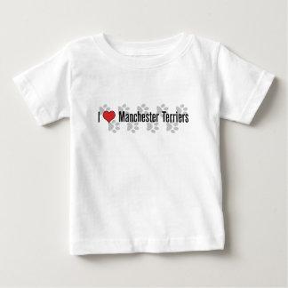 I (heart) Manchester Terriers Tee Shirt