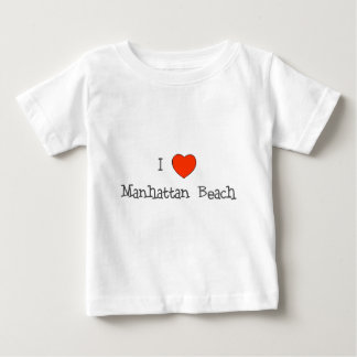 I Heart Manhattan Beach Baby T-Shirt