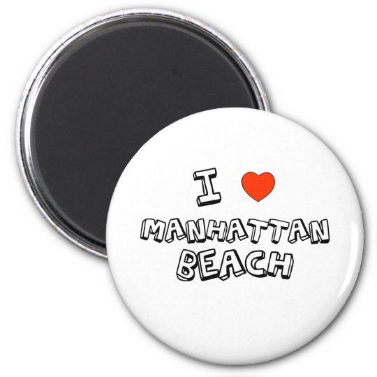 I Heart Manhattan Beach Magnet