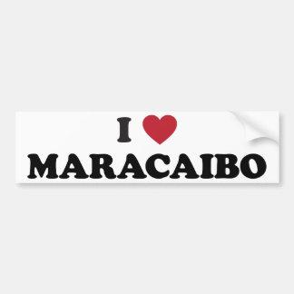 I Heart Maracaibo Venezuela Bumper Sticker