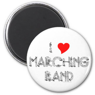 I Heart Marching Band Magnets