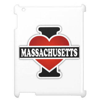I Heart Massachusetts Case For The iPad