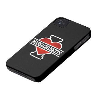 I Heart Massachusetts iPhone 4 Cover