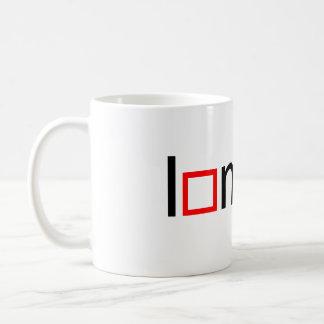 I heart math basic white mug