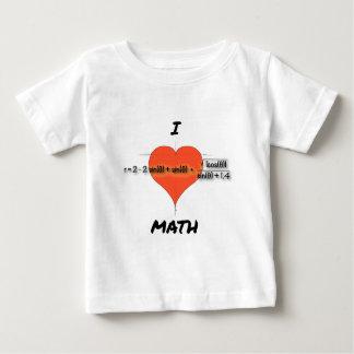 I Heart Math Equation T-shirts