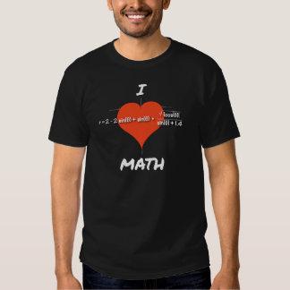 I Heart Math Equation Tshirt