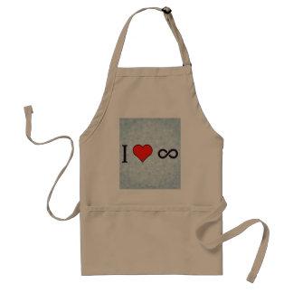 I Heart Math Standard Apron