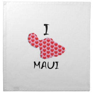 I heart Maui Napkin