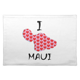 I heart Maui Placemat