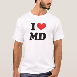 I Heart MD - Maryland T-Shirt