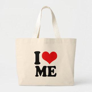I Heart Me Jumbo Tote Bag
