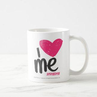 I Heart Me Magenta Coffee Mug