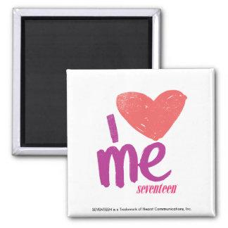 I Heart Me Pink/Purple Fridge Magnets