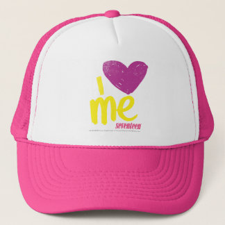 I heart Me Purple/Yellow Trucker Hat