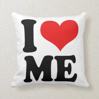 I Heart Me Throw Cushion