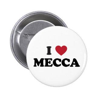 I Heart Mecca Saudi Arabia Pins