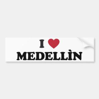 I Heart Medellín Columbia Bumper Sticker