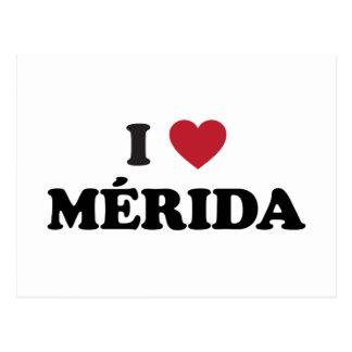 I Heart Mérida Mexico Postcard