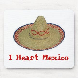 I Heart Mexico Mouse Pad