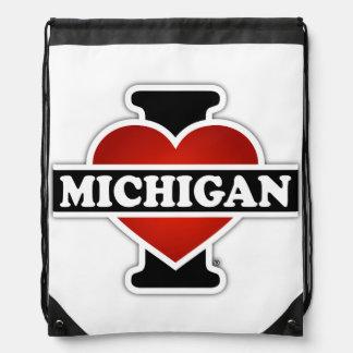 I Heart Michigan Backpacks