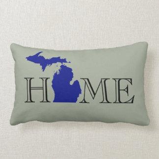 I heart Michigan Lumbar Cushion