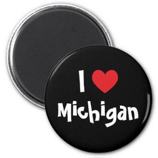 I Heart Michigan Magnet