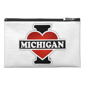 I Heart Michigan Travel Accessory Bag