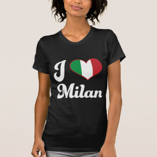 I Heart Milan Italy (Love) T-Shirt