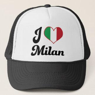 I Heart Milan Italy (Love) Trucker Hat