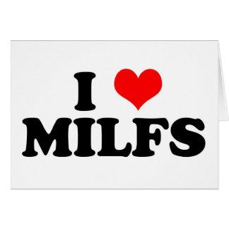 I Heart Milfs Cards