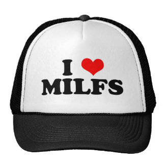 I Heart Milfs Trucker Hat